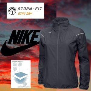 NIKE Storm Fit Dri NWOT Wolf Gray Hooded Jacket XL